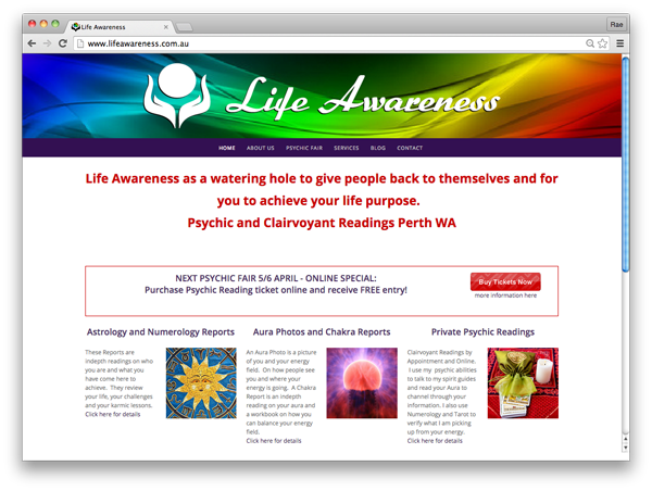 life-awareness-website