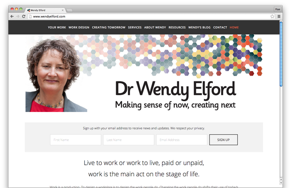 Wendy Elford :: website by accurate expressions